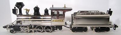 Marklin 85454 CP Sacramento Steam Loco & Tender Nickel Plate 1 Gauge  Digital