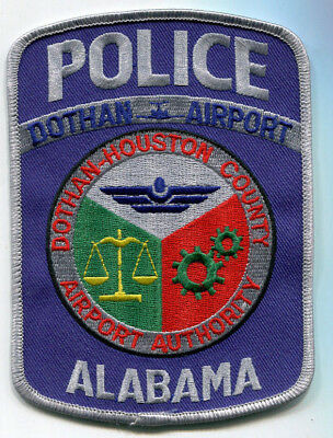 Dothan - Houston County Alabama Airport Police Patch // FREE US Shipping!