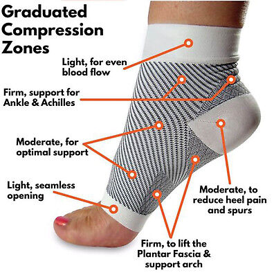 Plantar Fasciitis Foot Sleeve Compression Orthopedic Socks Ankle Arch Suppot