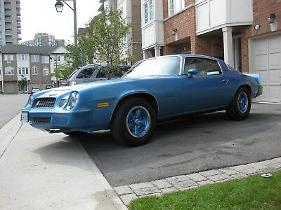 Chevrolet: Camaro BERLINETTA 1980 CHEVROLET CAMARO BERLINETTA  *ORIGIANL PAINT, 4SPD, NO WINTERS, 2ND OWNER*