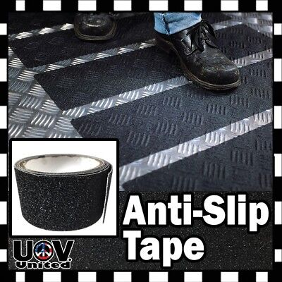 Anti Slip Non Skid High Traction Safety Grit Grip Tape Strips Sticker Adhesive
