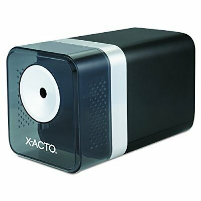 X-ACTO 1744 Power3 Office Electric Pencil Sharpener, Black FREE2DAYSHIP TAXFREE