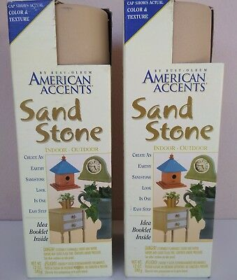 american accents mesa tan colour sand stone texture art 2x 340grams spray cans