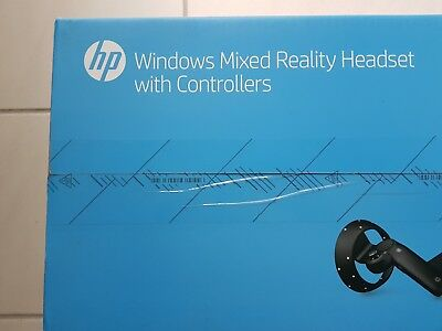 HP Mixed Reality Visor with Controllers