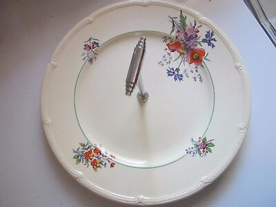 Antique Burleigh Ware Burgess & Leigh ATHLONE Large Plate One Tier Cake Stand