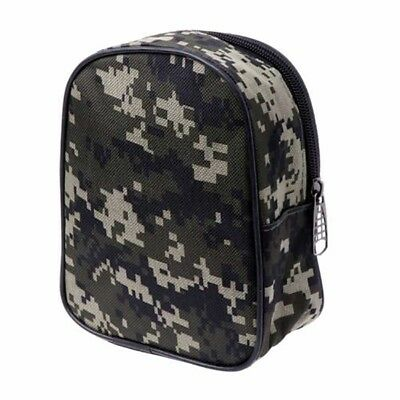 Portable Fishing Reel Mini Bag Pocket Fishing Tackle Pouch Case Outdoor Sp Smtp