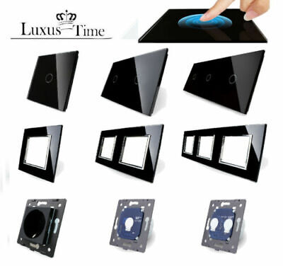 Livolo Light Switch Wireless Switch Sockets Dimmer Toggle Switch Black 8459