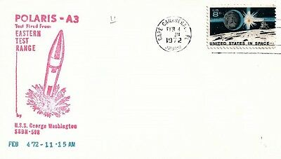 UNITED STATES - 1973 Polaris A3 Test from Eastern Test Range Souvenir Cover