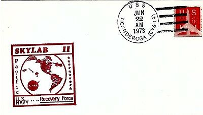 UNITED STATES - 1973 Skylab II US Navy Recovery Force Cover