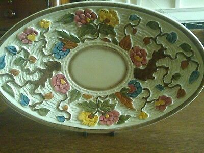Indian Tree Handpainted H J Wood  Oval Dish