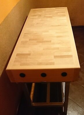Carniceros Block butchers block reversible with stand