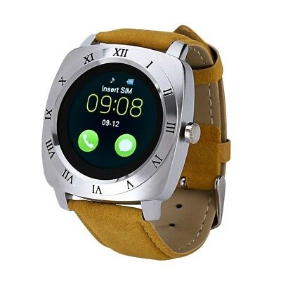 Iradish X3 Smartwatch - Pedometer, Sleep Tracker, 240x240 Resolution, 1.33 Inch