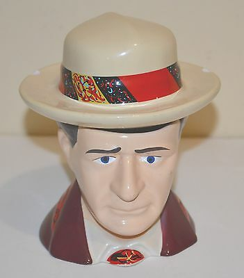 Dr Who Porcelain Toby Jug Coffee Tea Mug or Trinket Storage Keeper BBC 2012