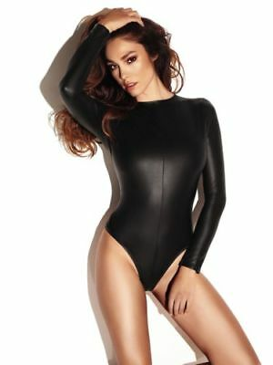 Ann summers black  wet look body S/M