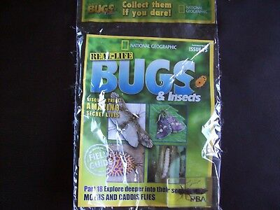 National Geographic Real-life Bugs & Insects magazine Issue 75