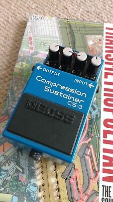 Boss CS-3 compressor and sustainer - really good condition.
