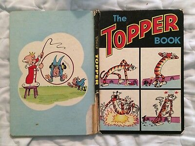 The Topper Book 1966 - vintage comic annual