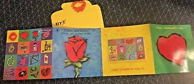 UK BT Phonecards - £2 Valentines Day Collectors Pack 1997 CHIP MINT