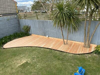 Larch Smooth Decking Boards