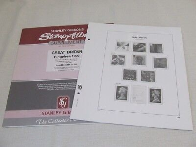 Stanley Gibbons Great Britain Davo Album Supplements, Various Years Available