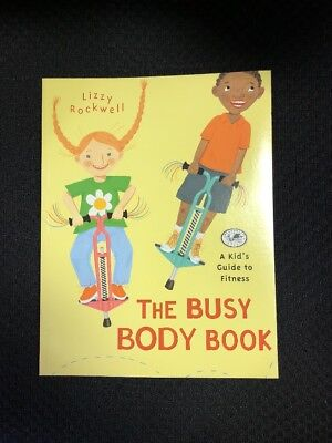 Lot of 2 children's books The Busy Body Book and The Human Body