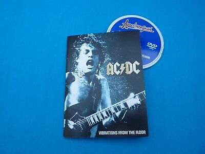 AC DC vibrations from the floor live London 1996 Moscow 1991  DVD   like new