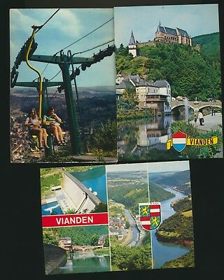 VIANDEN  lot de 8 cartes