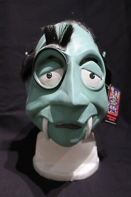 MAD MONSTER PARTY The Count DRACULA Mask TRICK OR TREAT Studios MINT No Reserve!