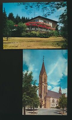 Esch-sur-Alzette  lot de 2 cartes
