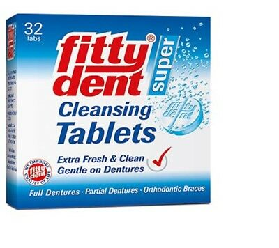 Fittydent Super Cleansing Tablets Pack of 2