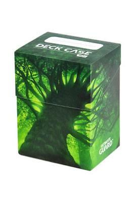Ultimate Guard Basic Deck Case 80+ Standard Size Lands Edition Forest I