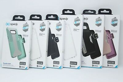 Speck Presidio Grip Wallet Clear Case for Samsung Galaxy S8 & S8 Plus - NEW !!!