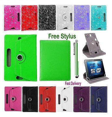 """Universal Folio Leather Flip Case Cover For Android Tablet PC 7"""" 9.7"""" 10"""""""