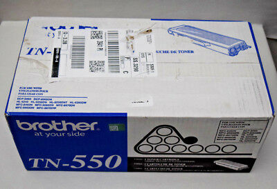 GENUINE Brother TN-550 Toner Cartridge In Retail Box