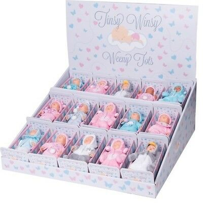 Tinsy Winsy Weeny 1 Tot Doll Choose From 15 Different Miniature Baby Dolls NEW
