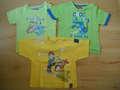 Lot 3 t-shirts manches courtes taille 24 mois BE
