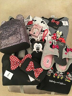 Minnie / Mickey Blouse, T-Shirt, Purse, Bag, Wallet, Slippers, Sweatshirt, Nails