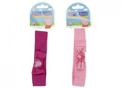 1 X Children's Girls Peppa Pig Hairband Hair Accessory Official License Gift Toy