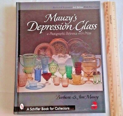 Mauzy's Depression Glass: A Photographic Reference Prices 3rd 2004 Collectors