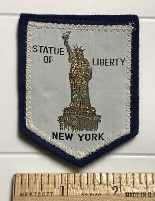 Statue of Liberty New York City NYC Souvenir Embroidered Felt Patch