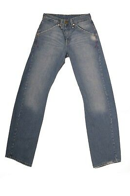 LEVIS 131 Vtg  80s TWISTED Enginereed JEANS DENIM FADED STRAIGHT FIT W27 Uk10 S