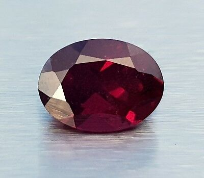 WaterfallGems Rhodolite Garnet, 8.8x6.6mm, 2.38ct see details