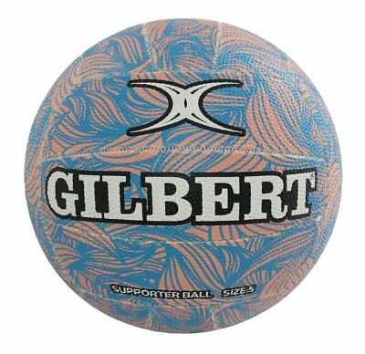 SAVE $$$ Gilbert Glam Pastel Wave Netball [Size 5] + FREE AUS DELIVERY