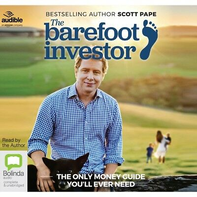 New - The Barefoot Investor The Only Money Guide You'll Ever Need CD - Audiobook