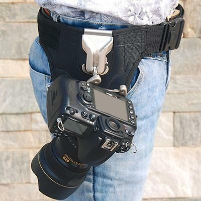 Quick Release Waist Strap Holster for DSLR like Spider Pro