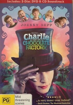 Charlie And The Chocolate Factory – 2 Dvd + Cd Soundtrack Set, Johnny Depp