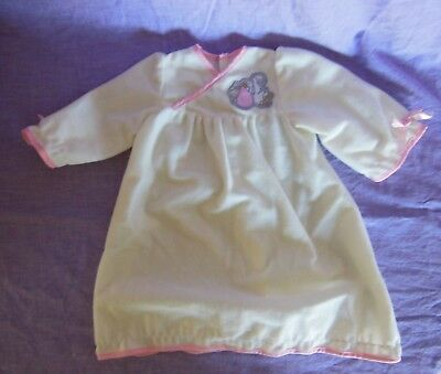 """Special Welcome Doll Baby Girl Outfit One Piece Nightie Night Gown 20"""" Vintage"""