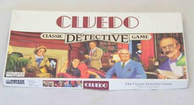 1983 Cluedo Classic Detective Board Game #13984