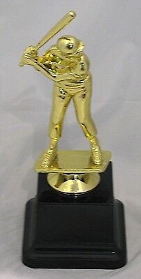 Male Baseball Batter Figurine Trophy 180mm Engraved FREE