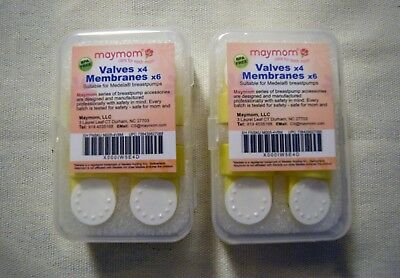 Maymom valves and membranes for medela pumps 2 packages NEW in package